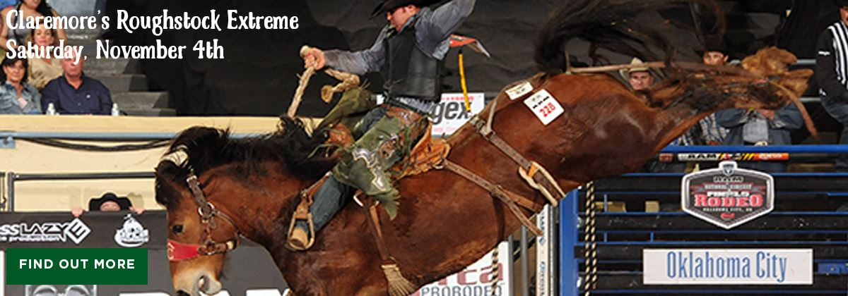 Claremore's Roughstock Extreme at the Claremore Expo Center