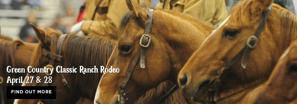 Green Country Classic Ranch Rodeo at the Claremore Expo Center